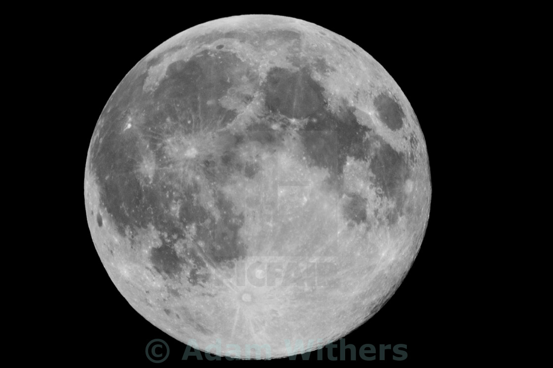 """The Moon"" stock image"