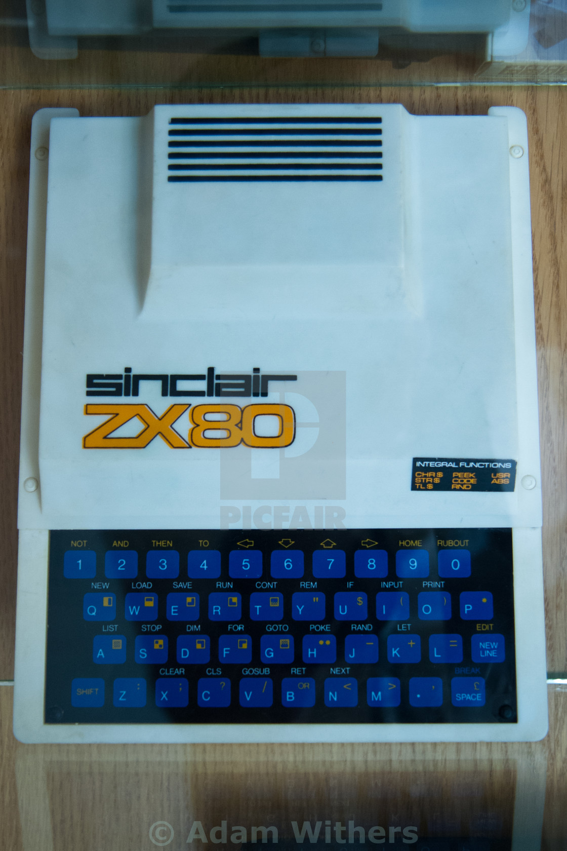 """Sinclair ZX80"" stock image"