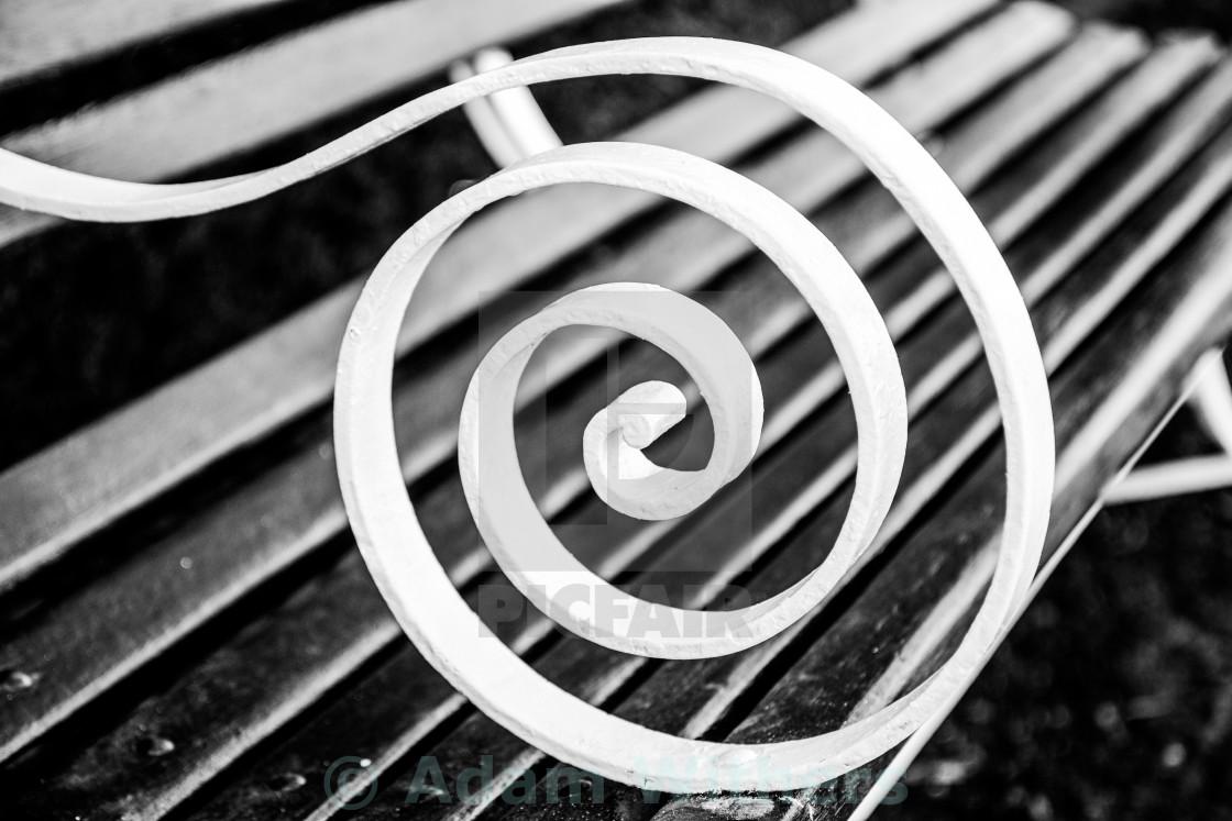 """""""Spiral Seat"""" stock image"""