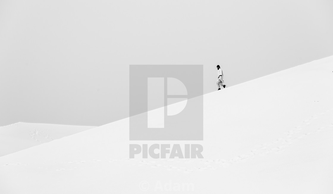 """Lost in Saharah"" stock image"