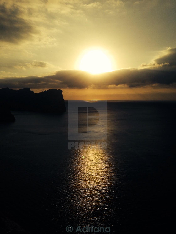 """Posta de sol"" stock image"