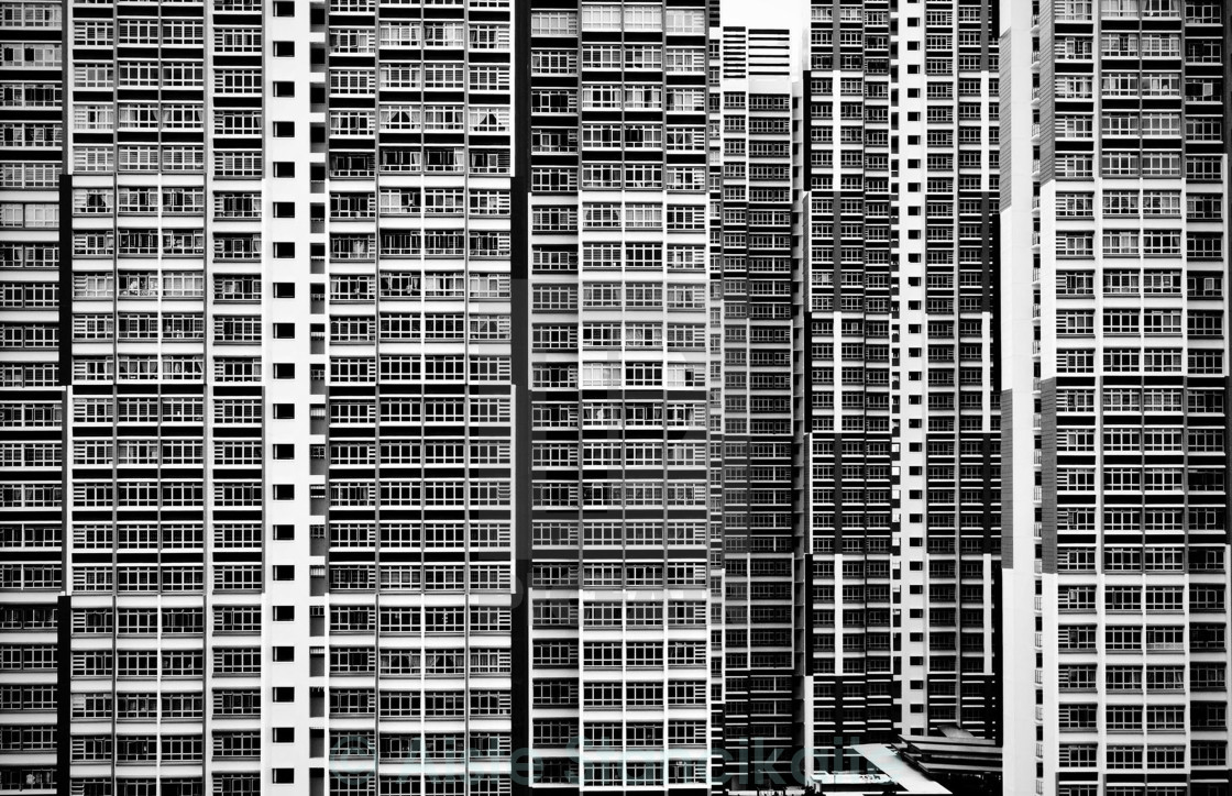 """high rise"" stock image"