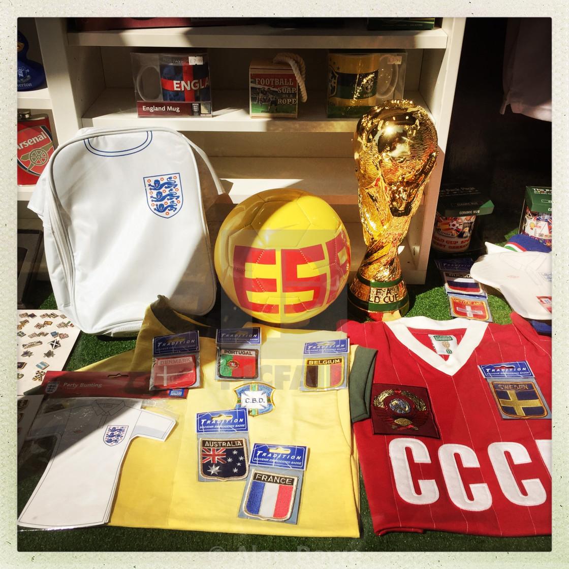 Football memorabilia - License, download or print for £12.40 | Photos |  Picfair
