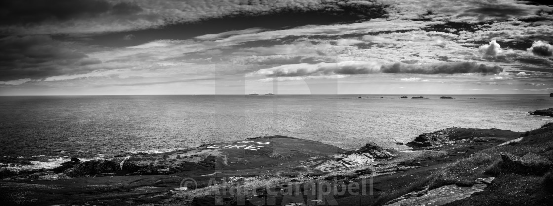 """Malin Head, Ireland"" stock image"