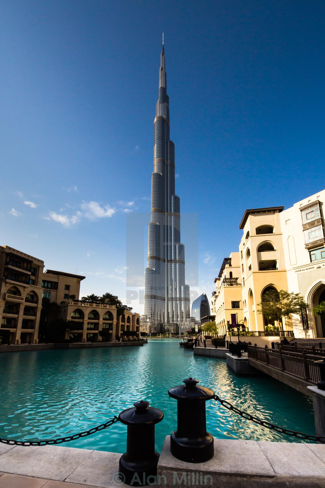 """Burj Khalifa"" stock image"