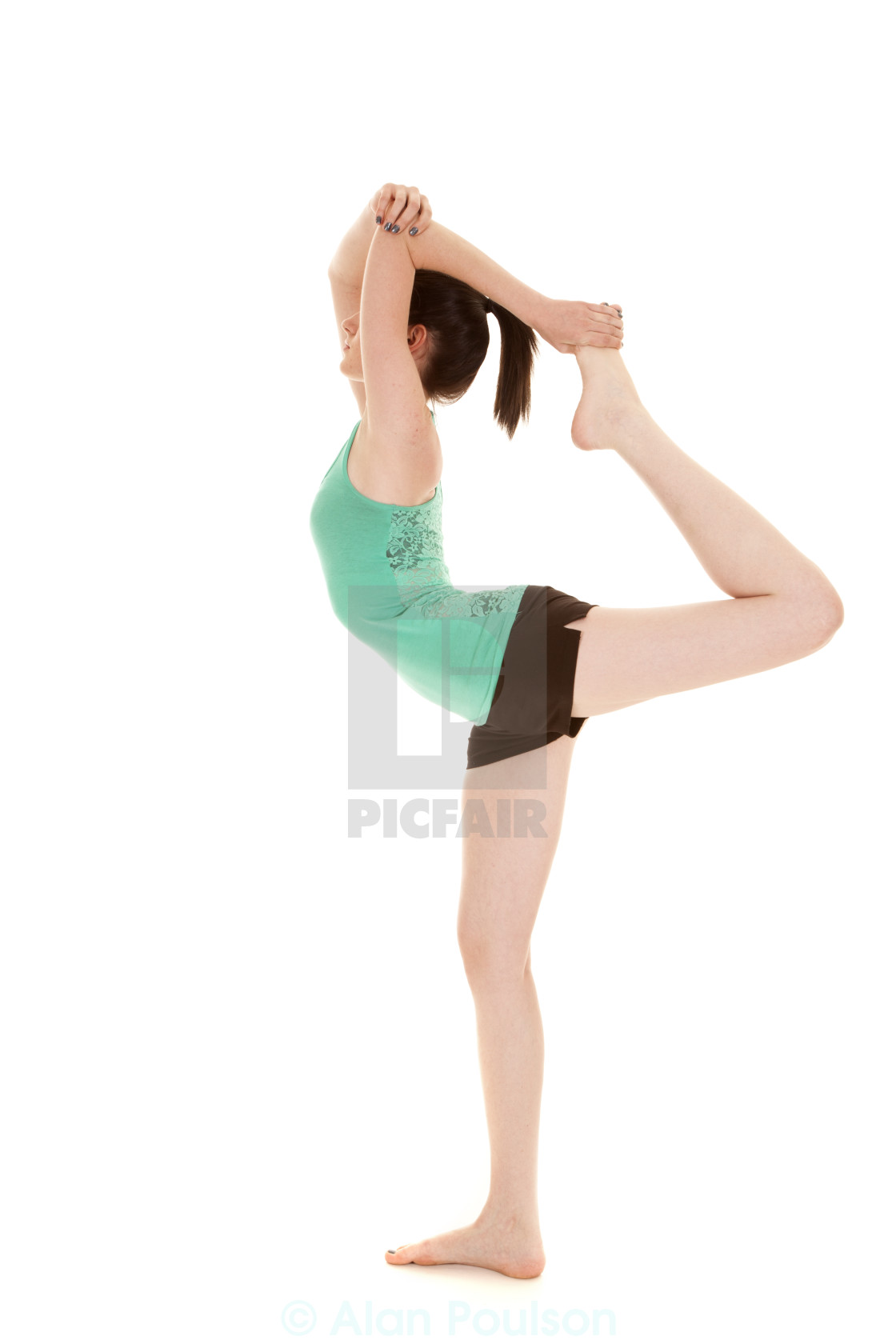 246f447a4d4a7 woman scorpion pose - License, download or print for £14.88 | Photos ...