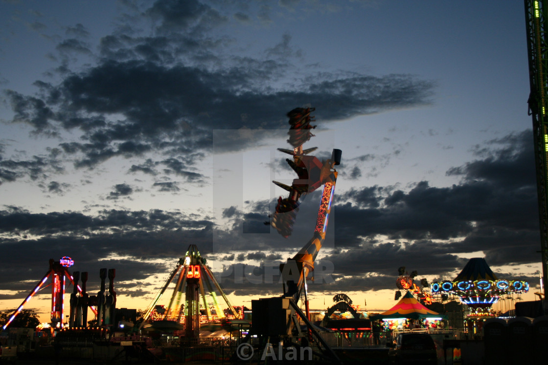 """""""New Mexico State Fair"""" stock image"""