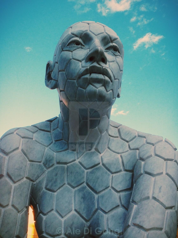 """I am a statue"" stock image"