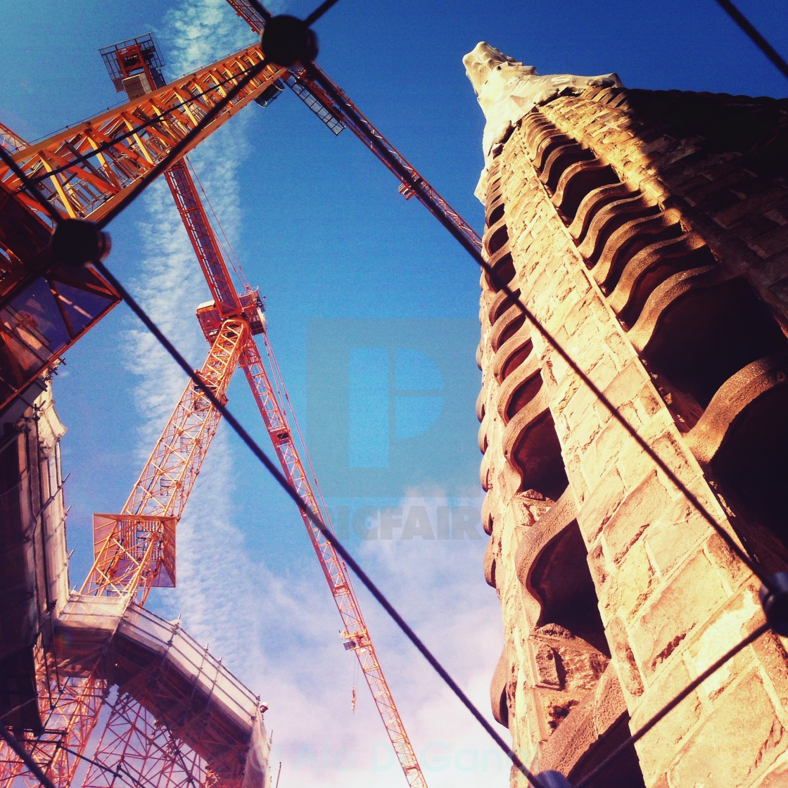 """""""Building up"""" stock image"""