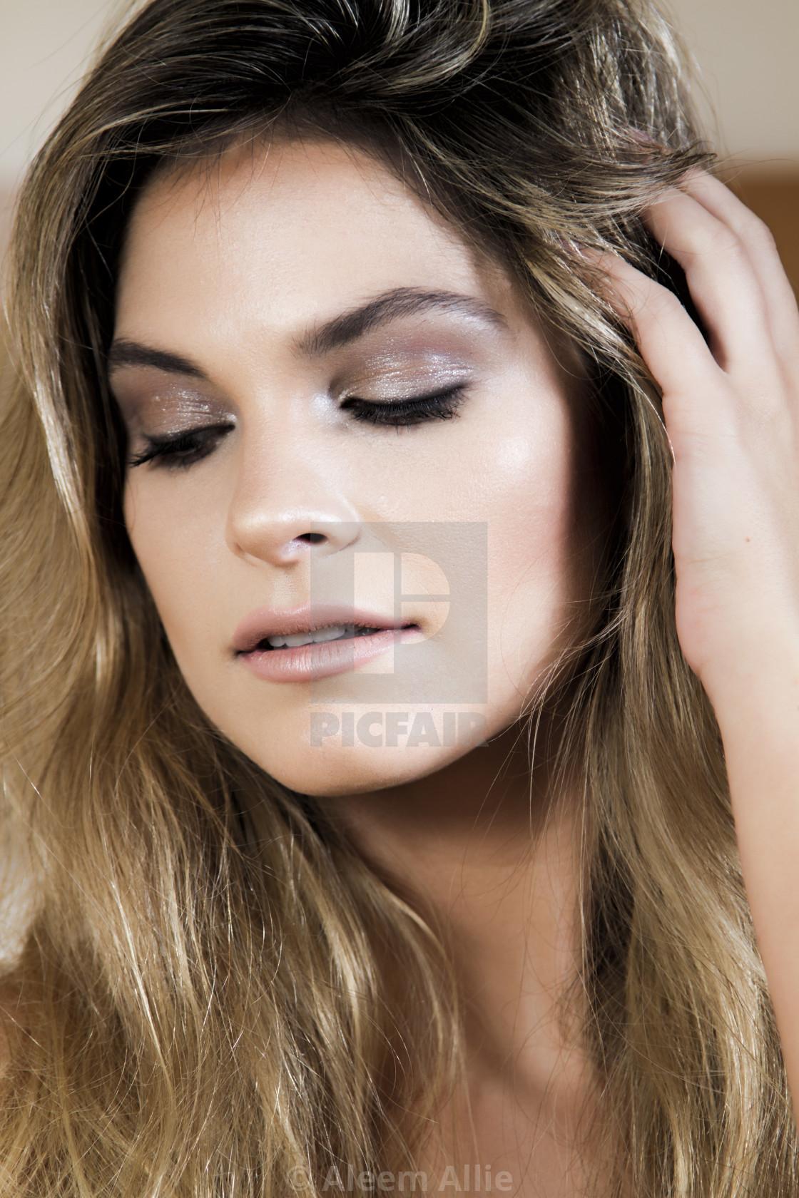 """Model Portrait"" stock image"