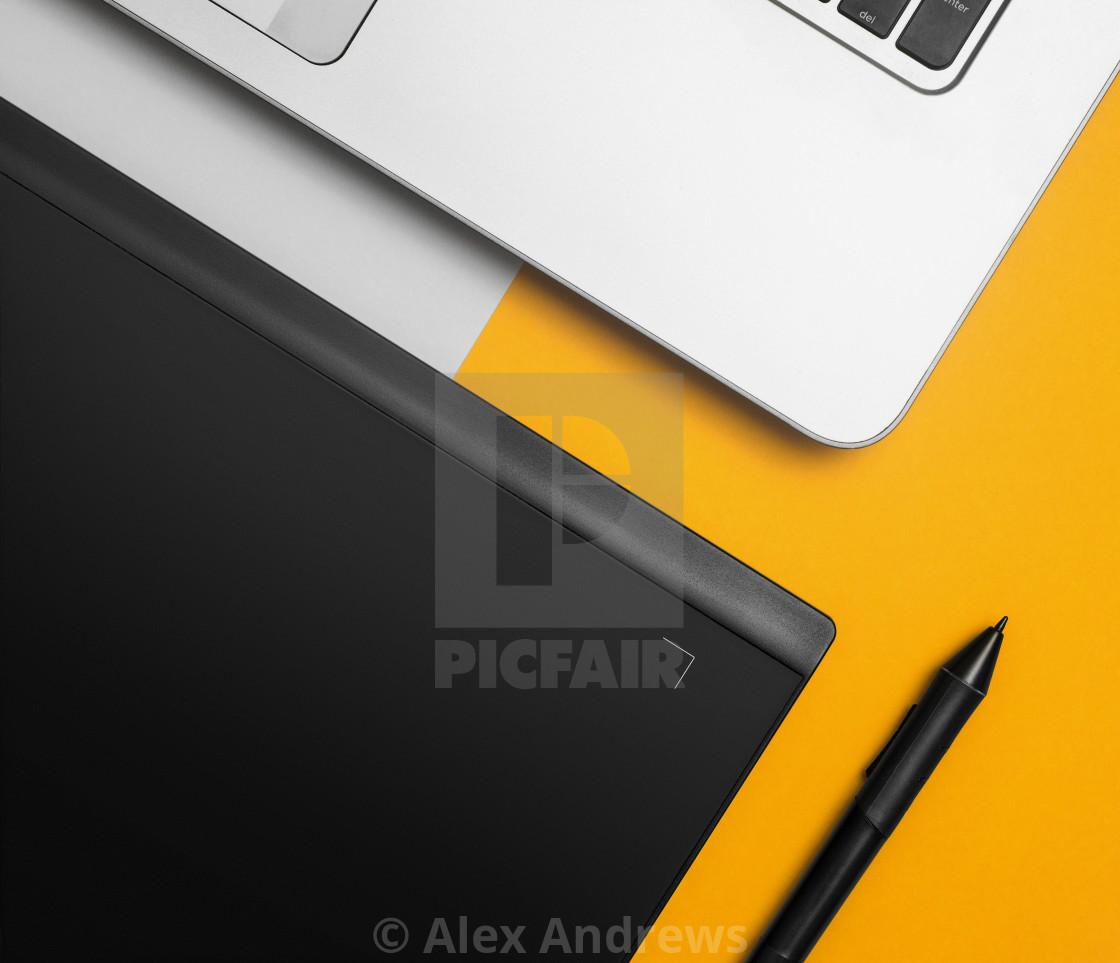 """Designers desk"" stock image"