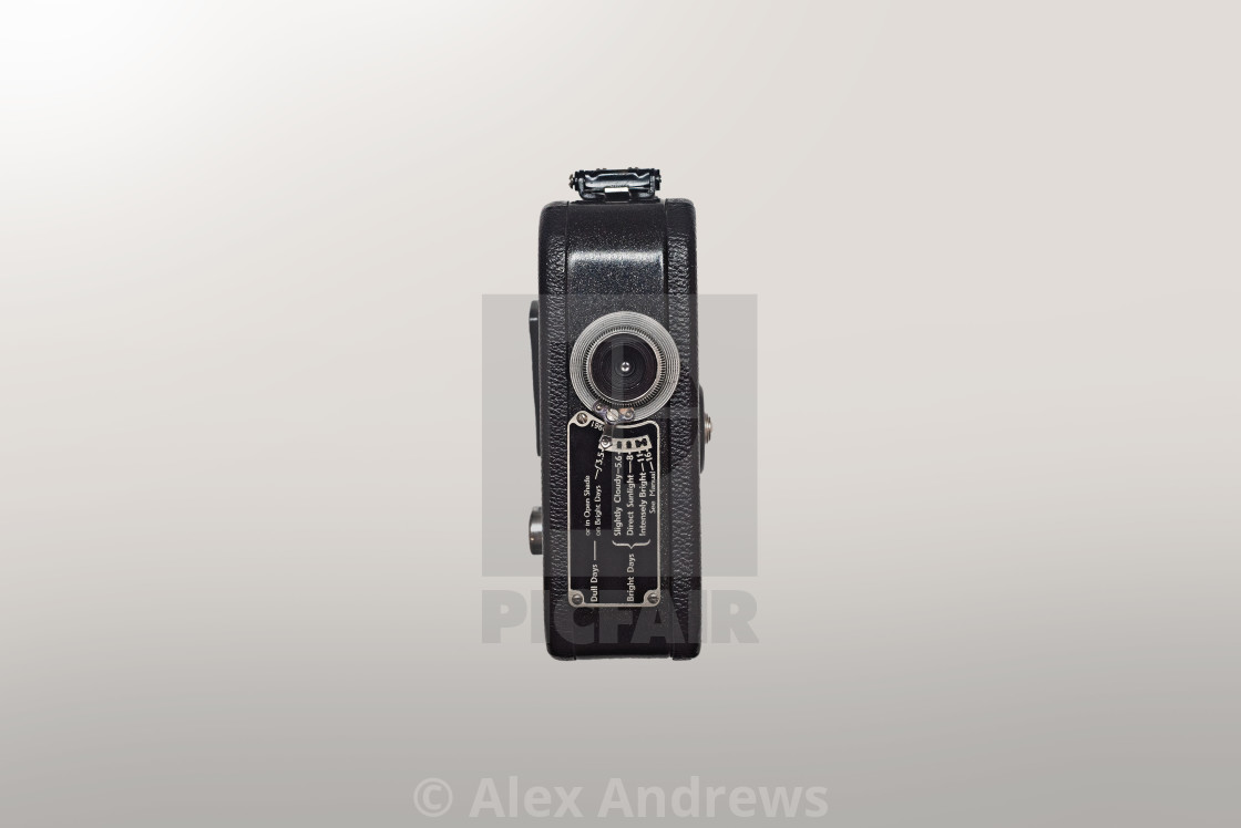 """Kodak Cine 8 film camera"" stock image"