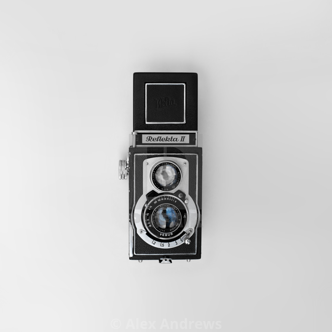 """vintage TLR camera"" stock image"