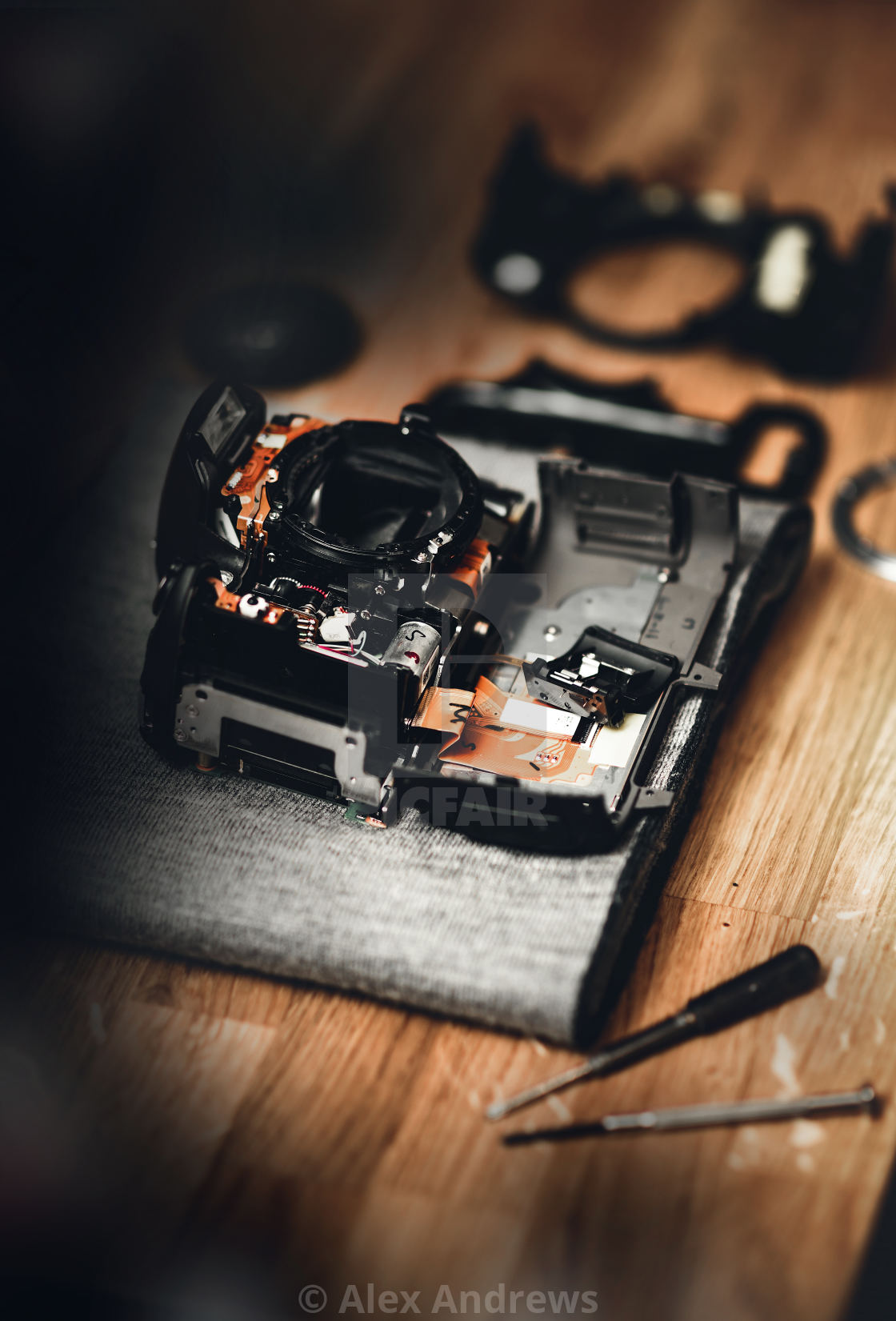 """camera repair"" stock image"