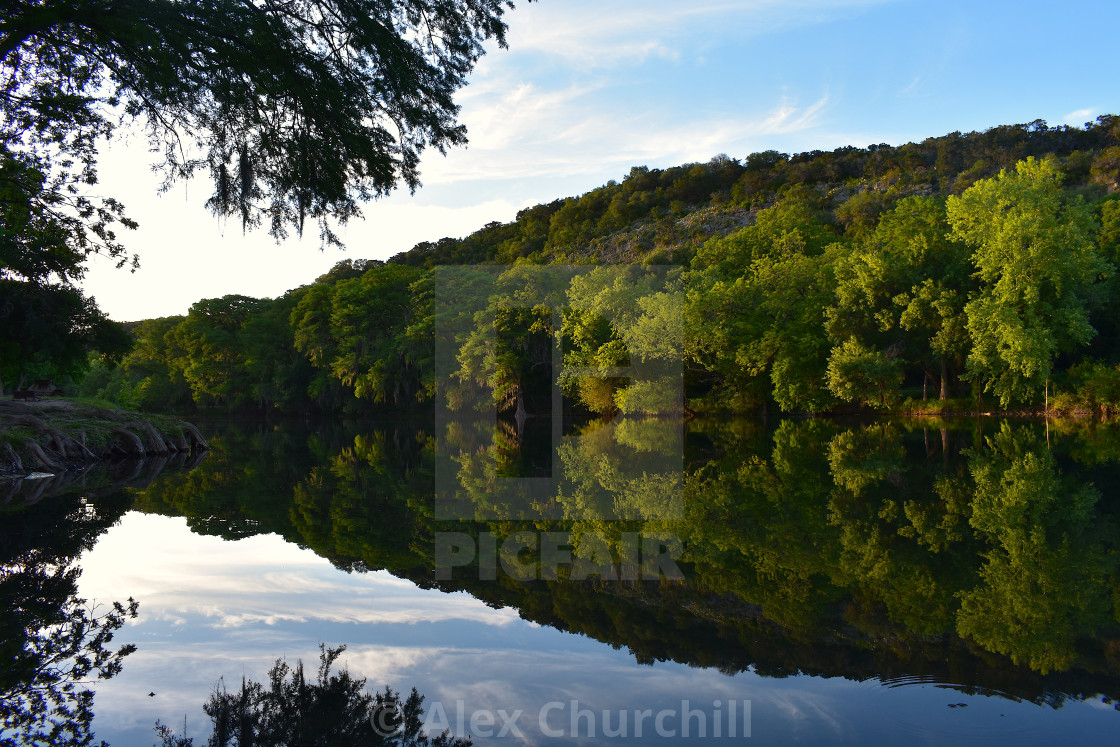 """Texas Hill Country"" stock image"