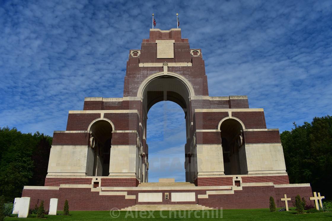 """The Thiepval Memorial"" stock image"
