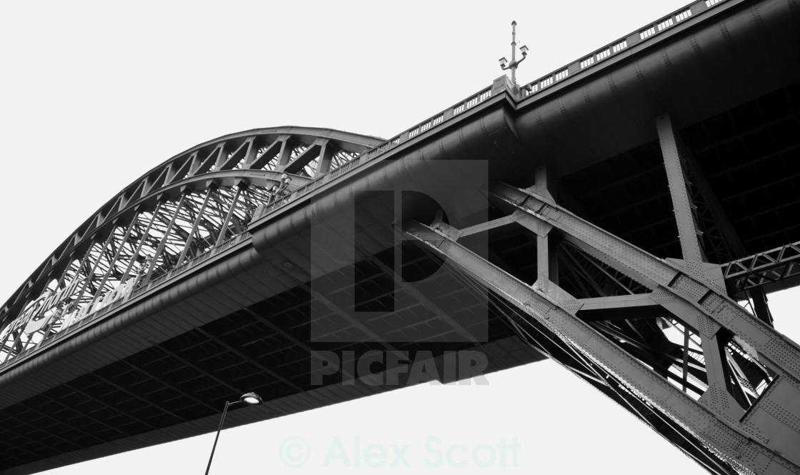 """Tyne Bridge 1"" stock image"