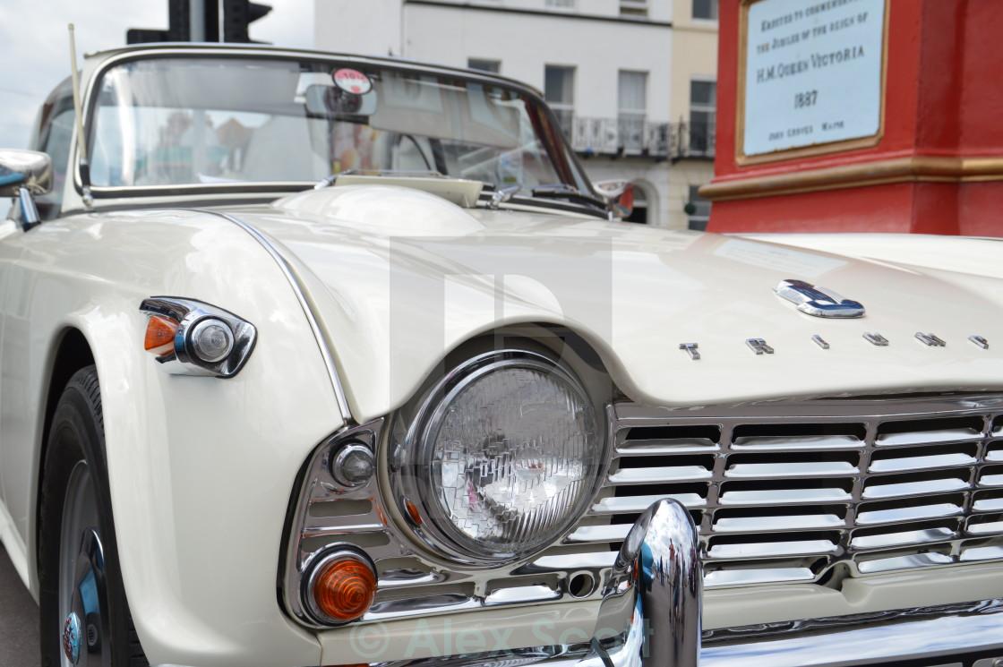 """""""Triumph TR4"""" stock image"""
