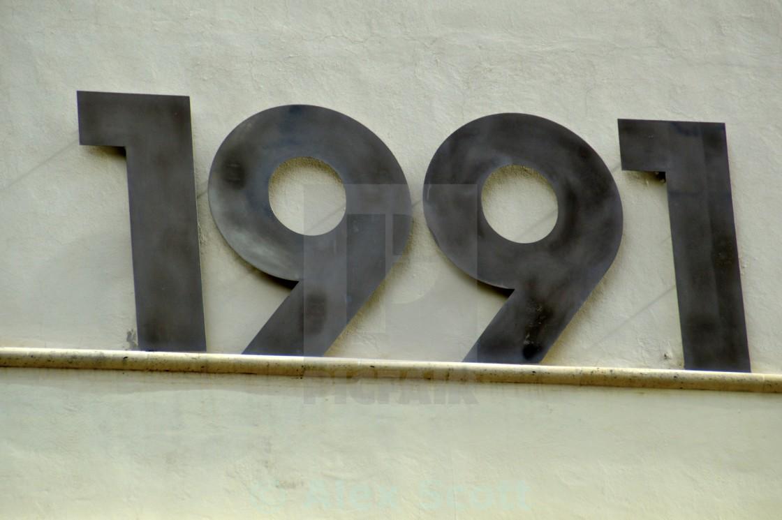 """1991"" stock image"
