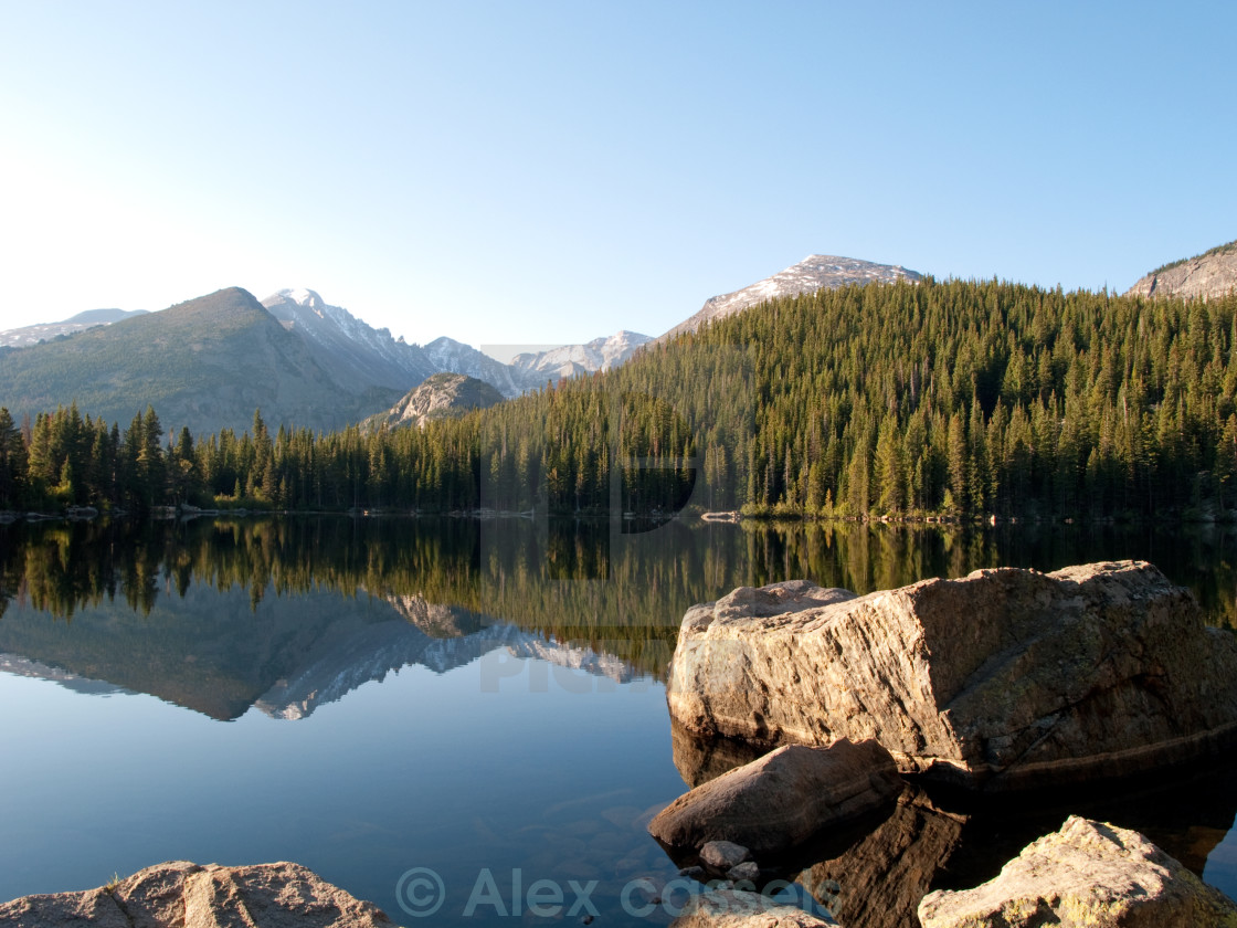 """Bear Lake"" stock image"