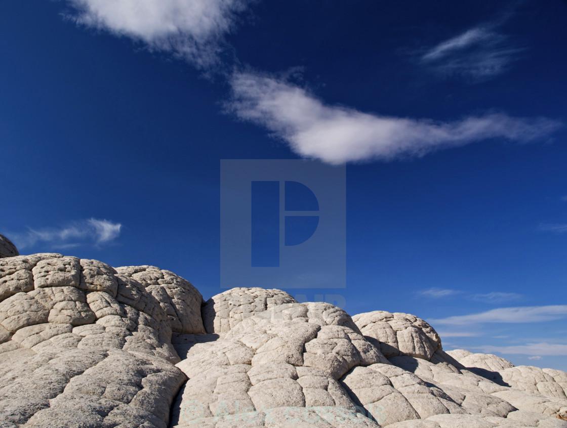"""The Brain Rocks of White Pocket"" stock image"