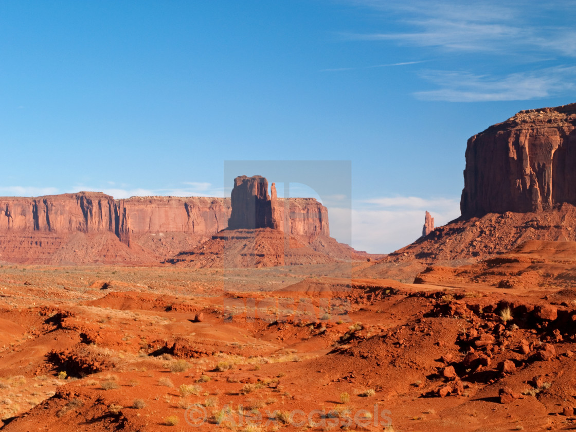 """John Ford's Point"" stock image"
