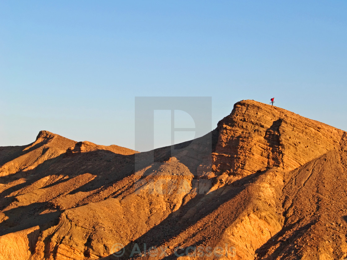 """Zabriskie Point"" stock image"