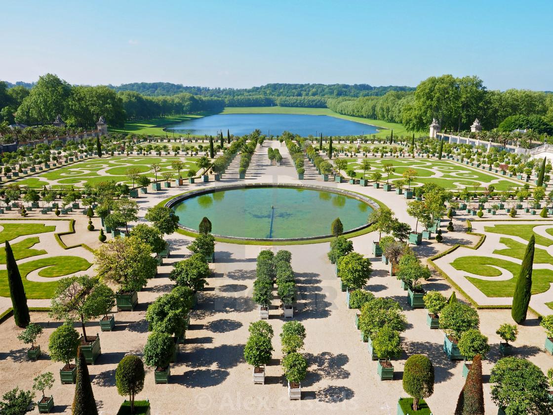 """The Orangerie at Versailles"" stock image"