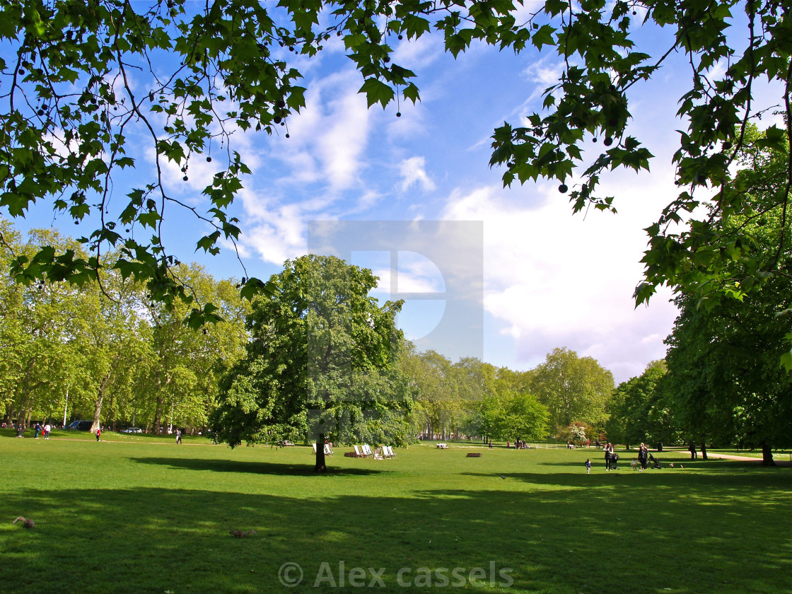 """St.James's Park"" stock image"