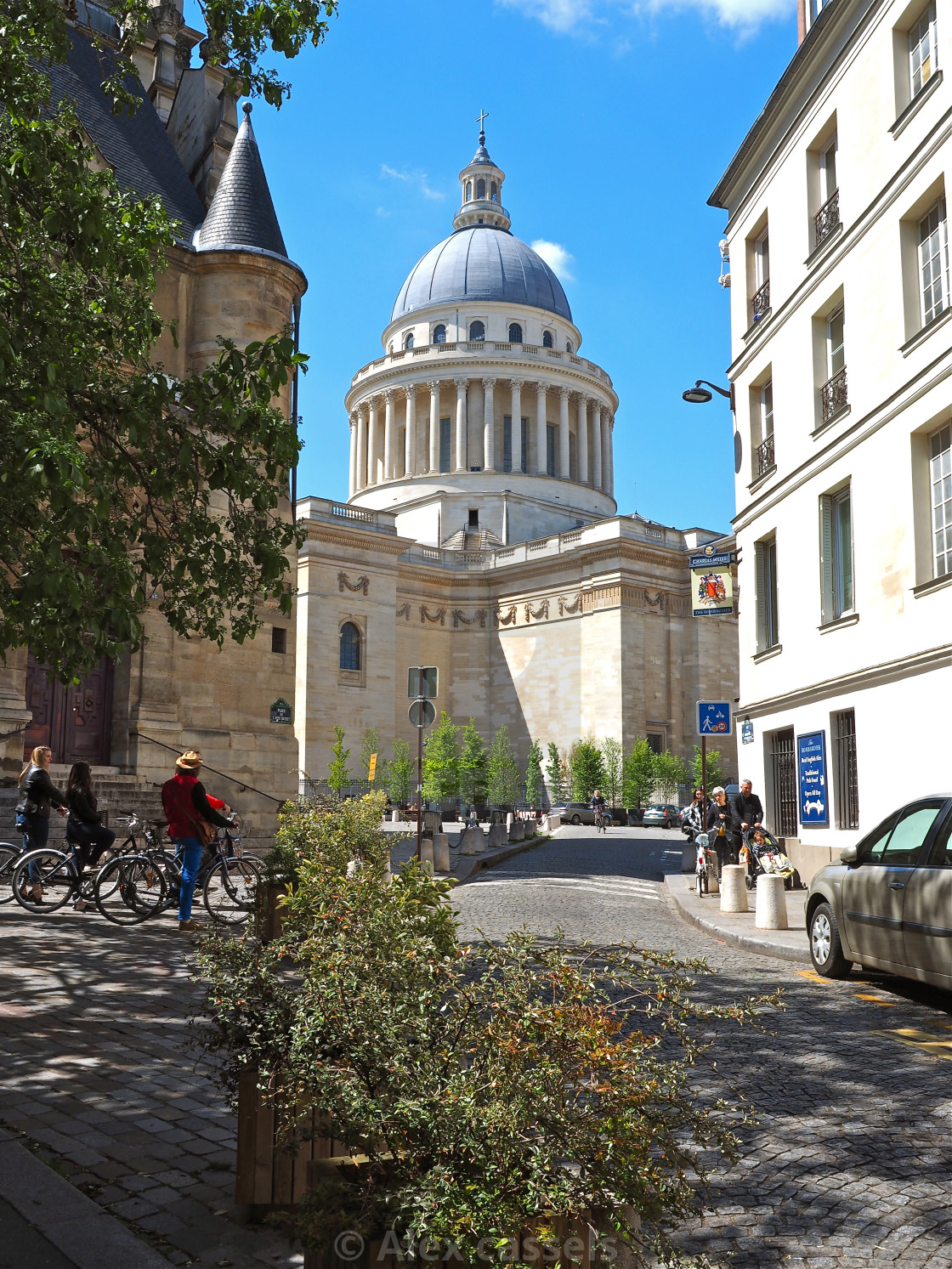 """The Panthéon"" stock image"