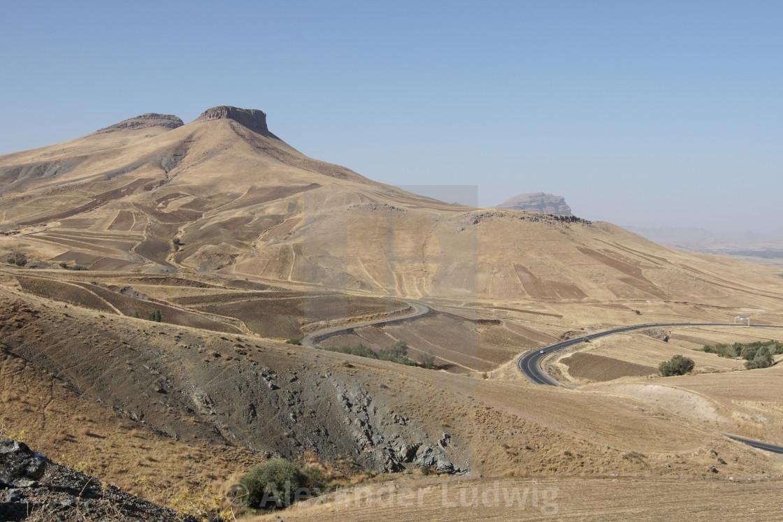 """""""Landscape, Kermanshah, Iran, Asia"""" stock image"""