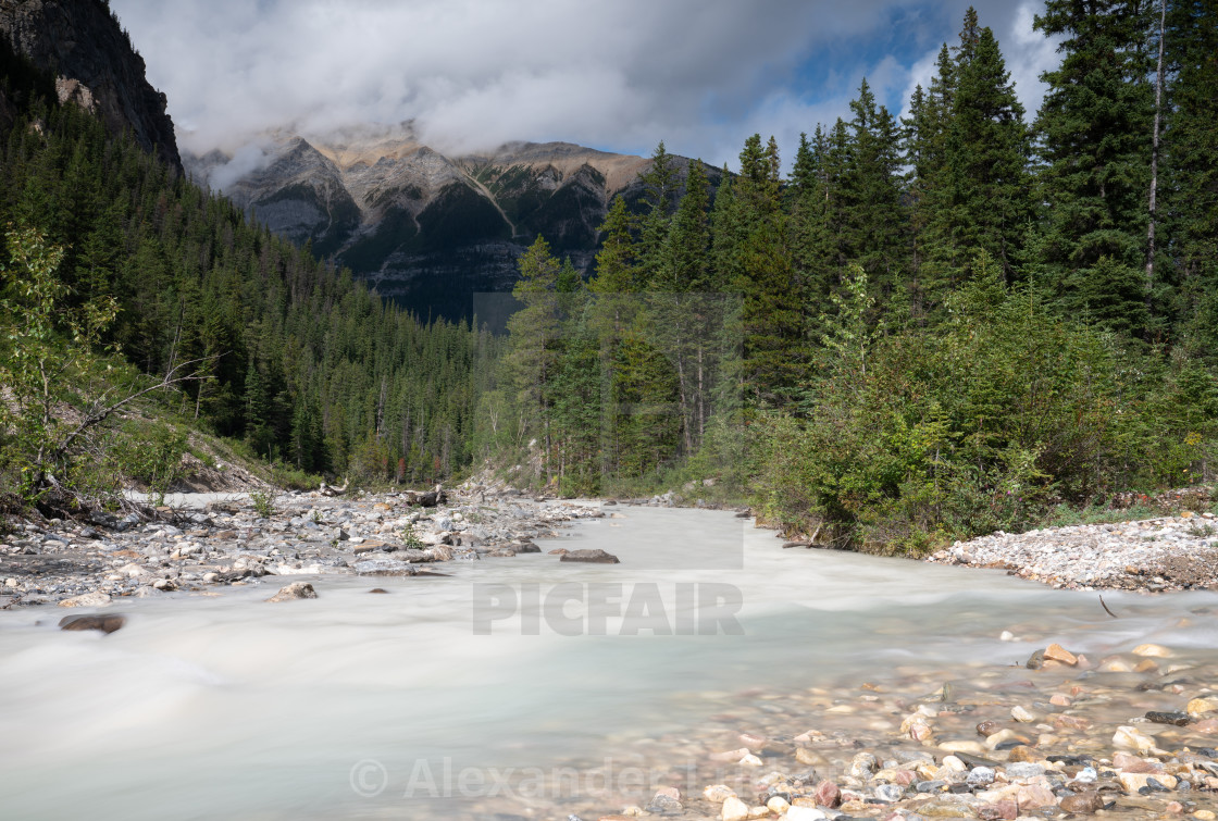 """Yoho National Park, British Columbia, Canada"" stock image"