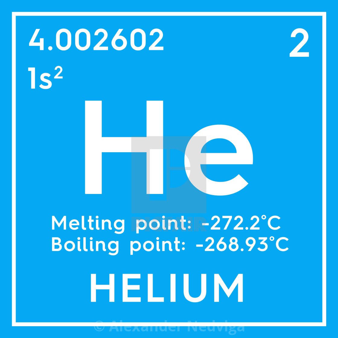 Helium Noble Gases Chemical Element Of Mendeleev S