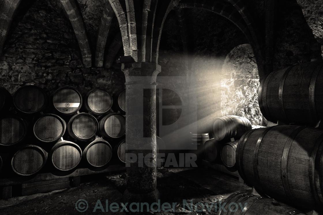 """Wine cellar"" stock image"