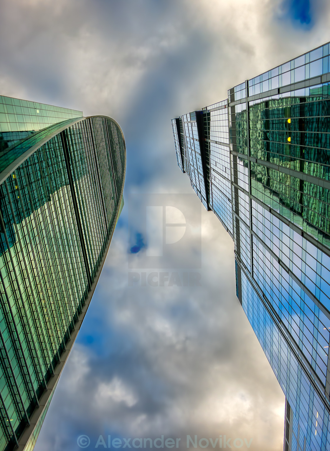 """Skyscrapers"" stock image"