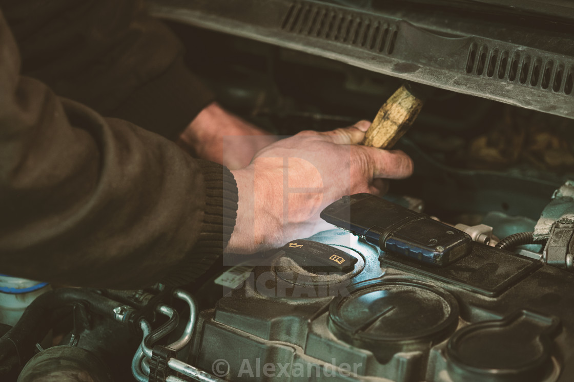"""Auto service car repair"" stock image"