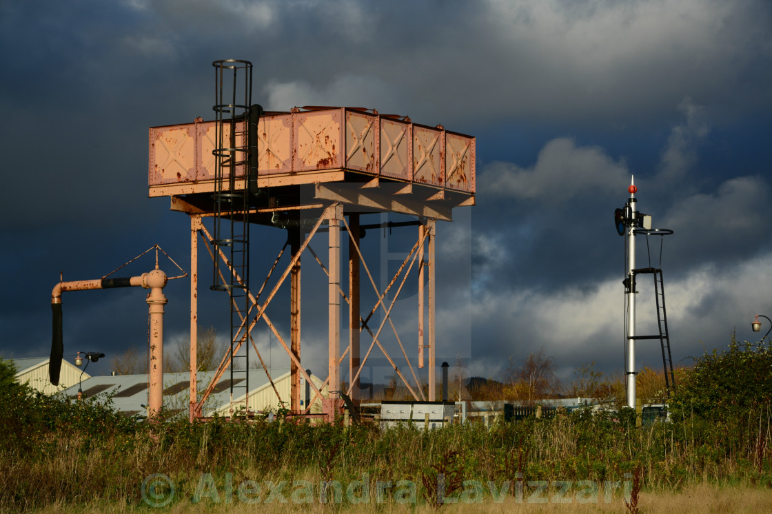 The Old Water Tank - License, download or print for £7 44 | Photos