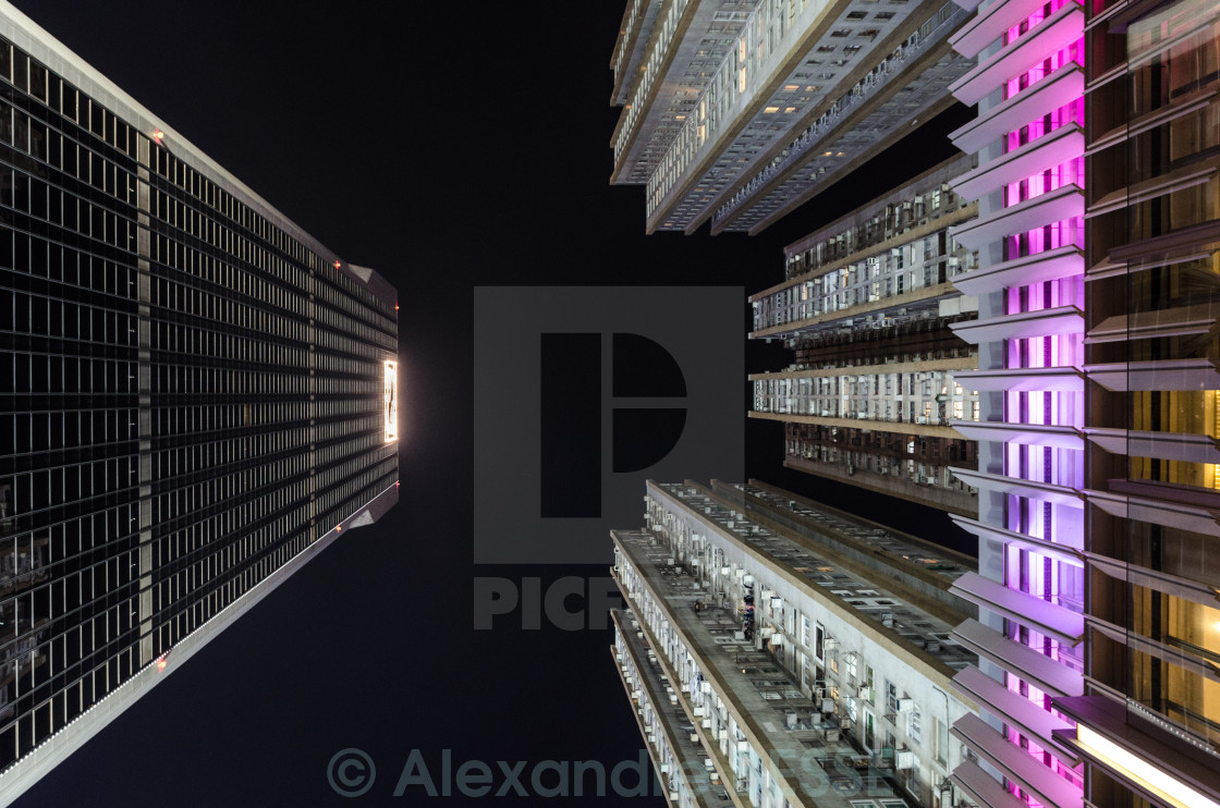 """Skyscraper in Hong Kong"" stock image"