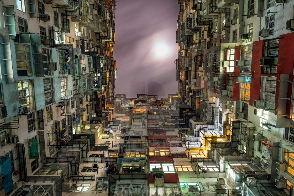 """Hong Kong unreal life"" stock image"