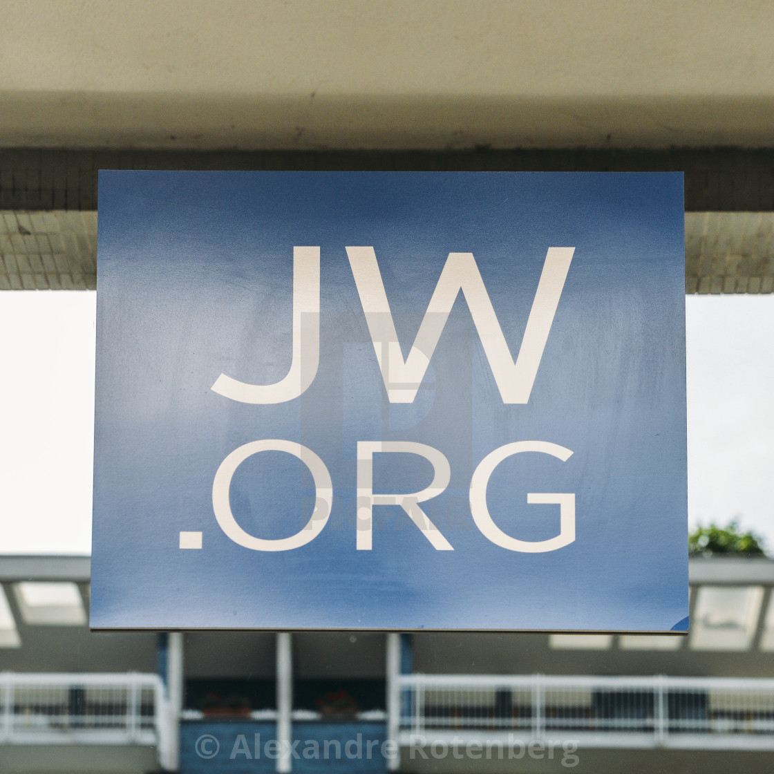 View a sign outside a Jehovah's Witnesses Kingdom Hall  Founded in