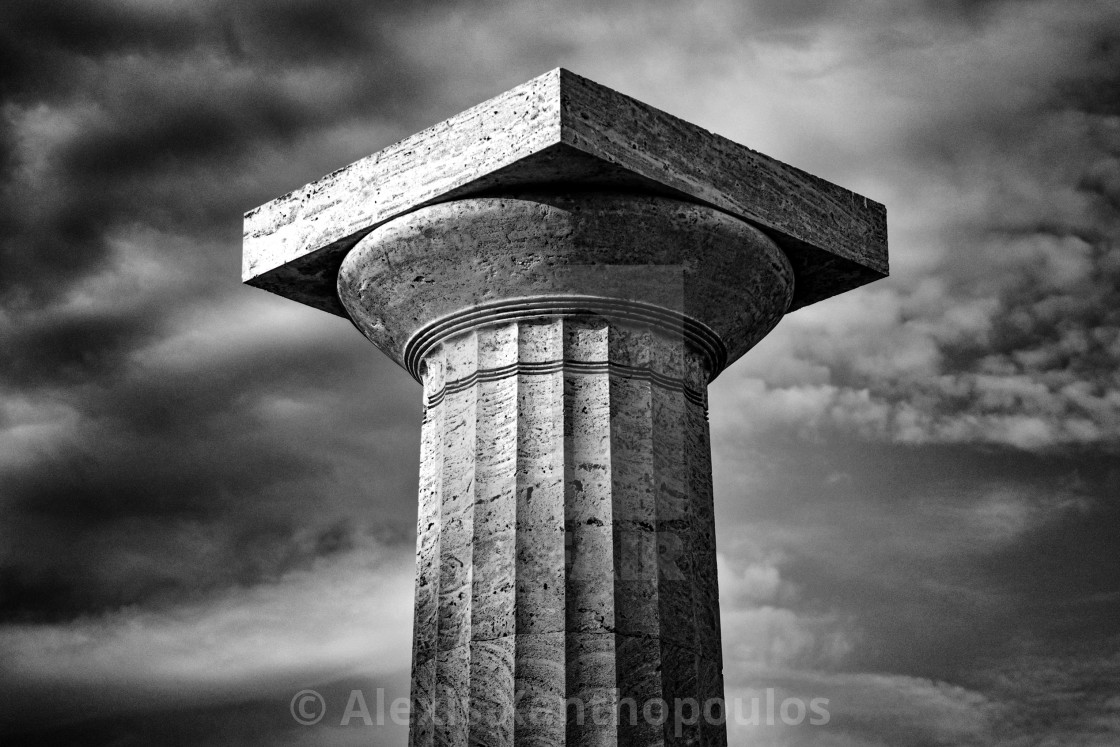 """The Column"" stock image"