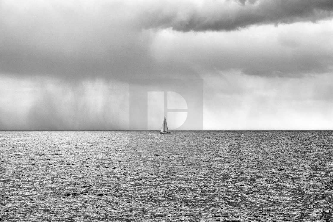 """Thru the storm"" stock image"