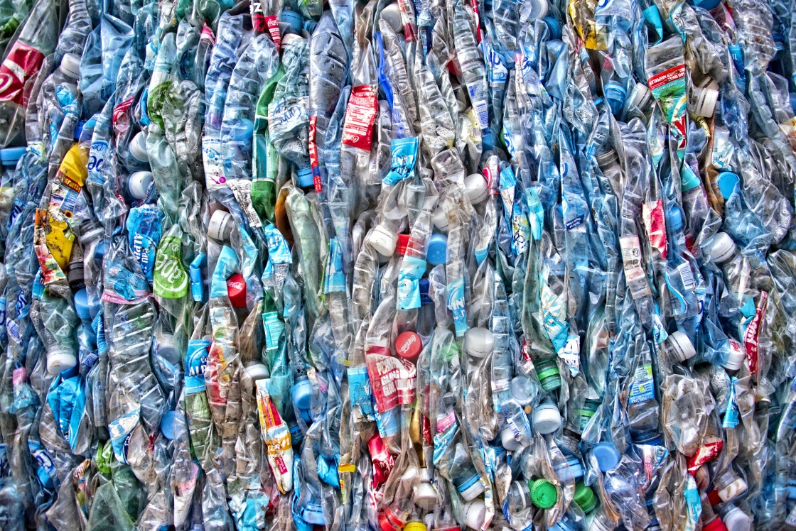 Plastic waste recycling in Guadeloupe