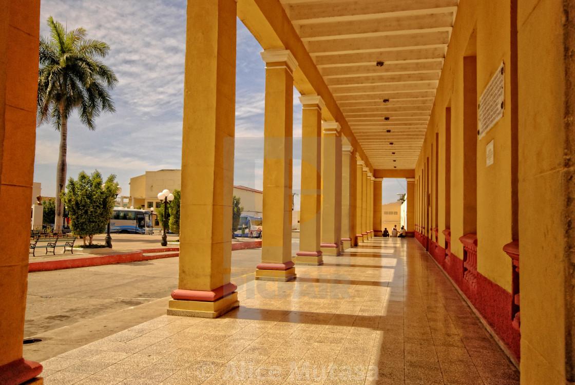 """Plaza Mayor in Trinidad, Cuba"" stock image"