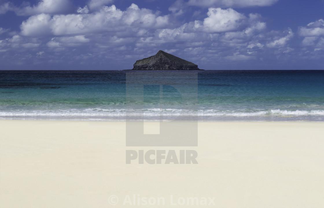 """Isolated Island"" stock image"