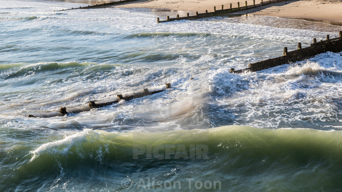 """Wave action"" stock image"