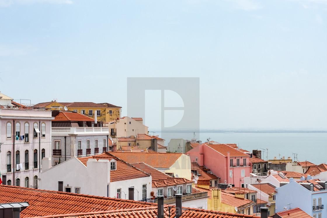 """Lisbon View"" stock image"