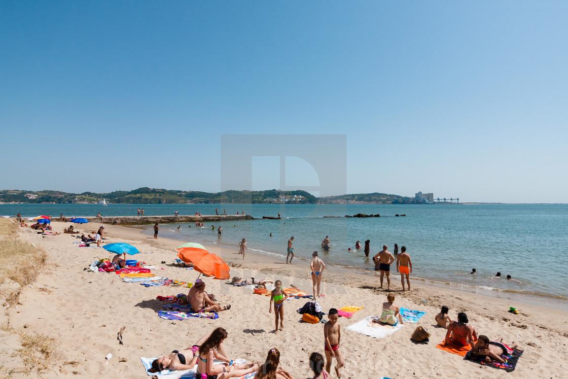 """Local Beach"" stock image"