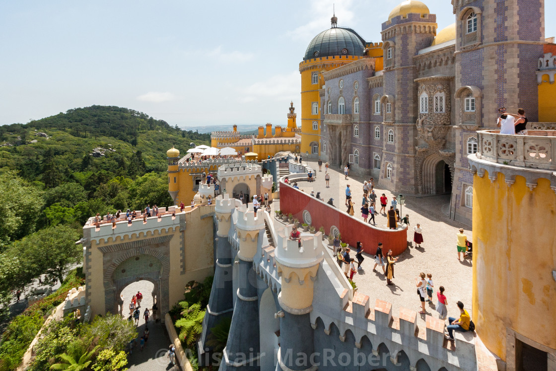 """Palace of Sintra"" stock image"