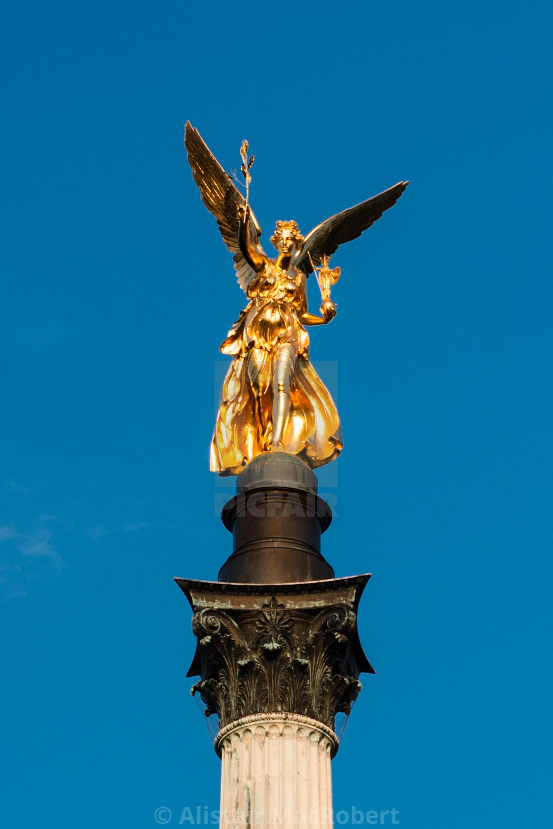 """Friedensengel - Angel of Peace"" stock image"